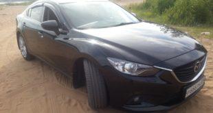 Mazda 6 black