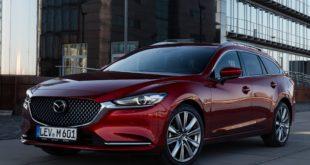 Фотосет седана и универсала Mazda 6 2018
