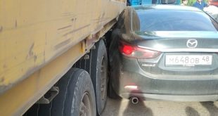 45805b86 resizedscaled 1020to574 310x165 - «Мазда» влетела под грузовик: очередное ДТП на улицах Тамбова