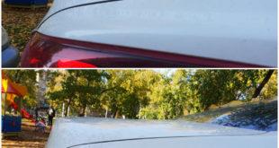 Регулировка зазора крышки багажника