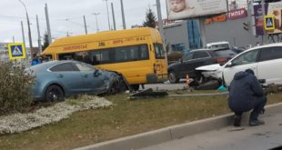 1b479ff65b7ac0421580af0ec158f70e 310x165 - В аварии с участием двух иномарок и автобуса серьезно пострадала пассажирка маршрутки