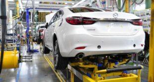 Завод «Мазда Соллерс» в 2018 году увеличил производство на 29%
