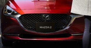 """Обновлённую Mazda2 сделали похожей на """"трешку"""""""
