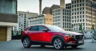 """9f18a2f0 2020 mazda cx 30 exterior static shots 50 310x165 - """"Лосиный тест"""" Mazda CX30 от Km"""