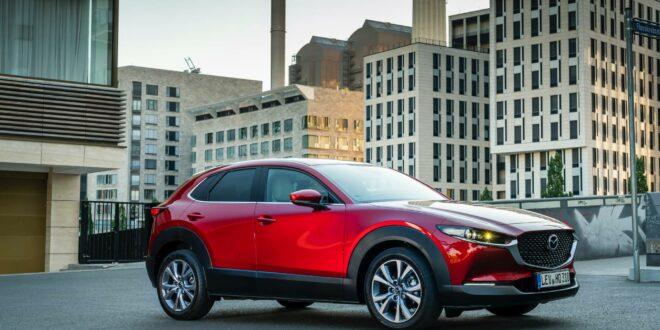 """9f18a2f0 2020 mazda cx 30 exterior static shots 50 660x330 - """"Лосиный тест"""" Mazda CX30 от Km"""