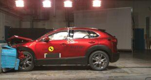 Mazda CX-30 выигрывает в краш-тестах Euro NCAP