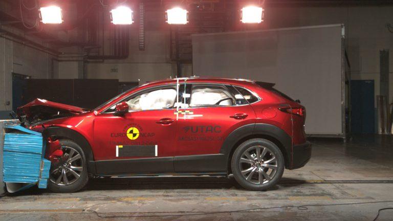 2019 mazda cx 30 euro ncap 8 768x432 - Mazda CX-30 выигрывает в краш-тестах Euro NCAP