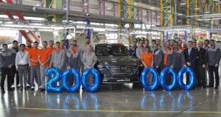 mazda sollers 200000 th car 2 310x165 - Mazda выпустила в России 200-тысячный автомобиль