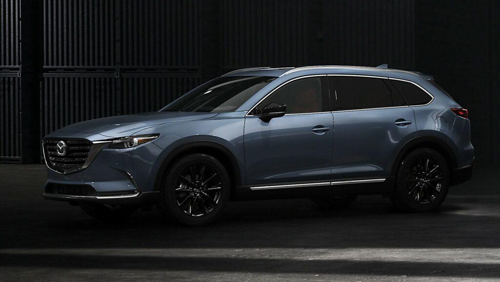 2020 mazda carbon editions 6 1024x578 - Mazda CX-9 2021 - больше экран, еще больше