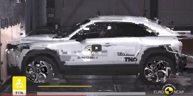 Euro NCAP Crash & Safety Tests of Mazda MX-30