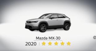 Смотрите результаты краш-теста Mazda MX-30 NCAP