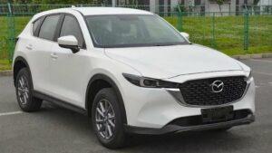 Mazda CX-5 2022 рассекретилась раньше времени